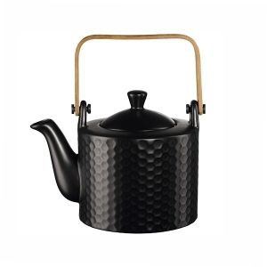 "ASA Selection ""black tea"" Teekanne 0,75l schwarz Waben"