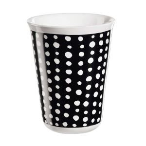 "ASA Selection ""coppetta"" Cappuccino Becher white spots"
