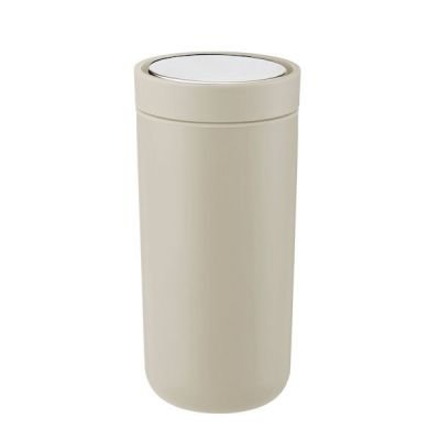 stelton i:cons To Go Click Thermobecher 0,34l sand matt