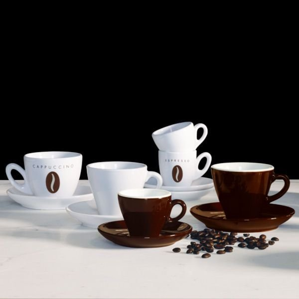 caff ti amo espressotasse kaffeebohne 100 ml asa selection. Black Bedroom Furniture Sets. Home Design Ideas