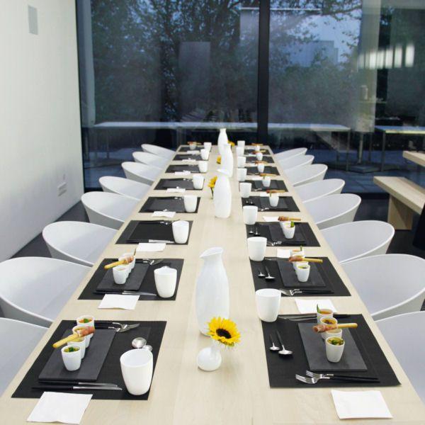 table tops tischset anthrazit asa selection. Black Bedroom Furniture Sets. Home Design Ideas