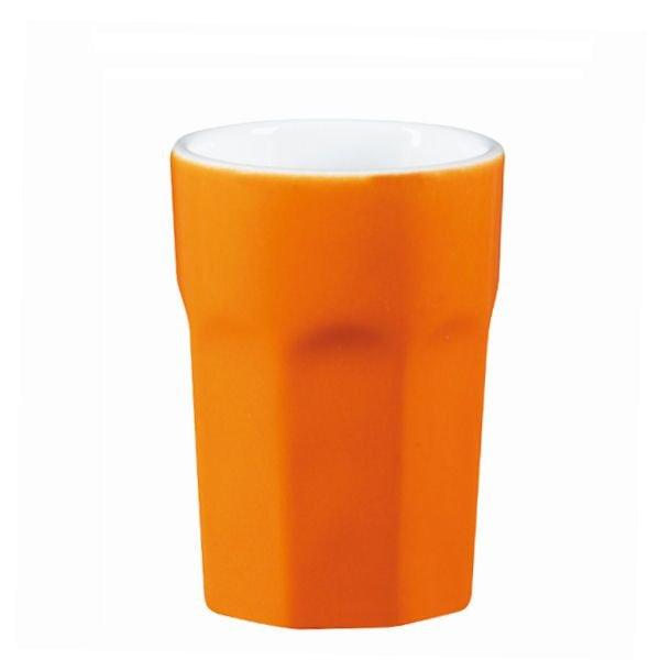 Crazy Mugs Caf 233 Latte Becher Orange 470 Ml Asa Selection