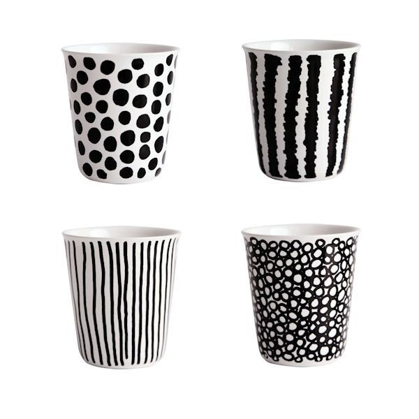Coppetta 4er Set Espresso Becher Asa Selection