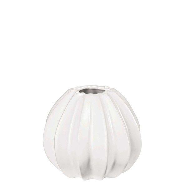 Cactus Vase 14 Cm Weiss Matt Asa Selection