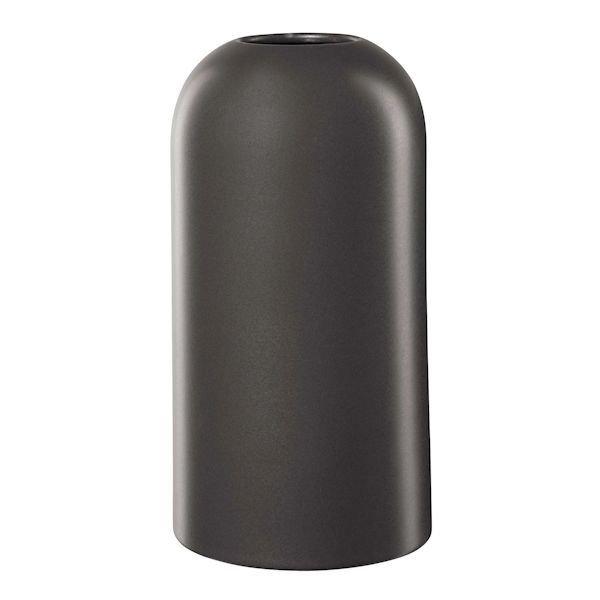 Olahh Vase 23 Cm Schwarz Matt Asa Selection